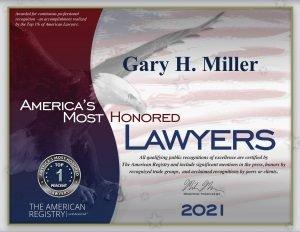 AMH award certificate